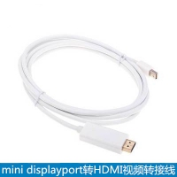 mini displayport迷你dp雷电mini DP转HDMI视频转接线 ...