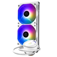 ID-COOLING ZOOMFLOW 240X SNOW 5V支持幻彩同步ARGB一体式水冷排